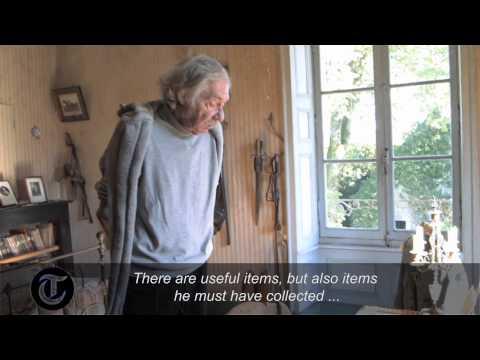 La chambre d'un soldat français, figée dans le temps