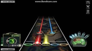 Flash Guitar Hero: DragonForce - Power And Glory (Expert)