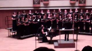 He's Gone Away - Ron Nelson: The University of Texas Women's Chorus