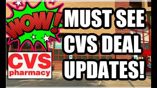 CVS DEAL UPDATES --- MUST SEE 10 ITEMS FOR FREE 👀