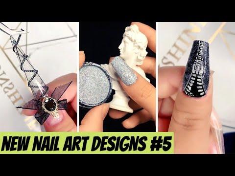 New Nail Art Designs Compilation # 5  New Nail Art 2021  The Best Nail Art Designs Compilation