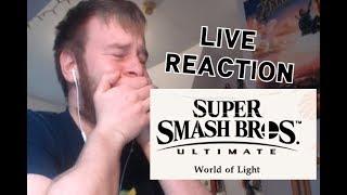 LIVE REACTION - WORLD OF LIGHT SUPER SMASH BROS. ULTIMATE
