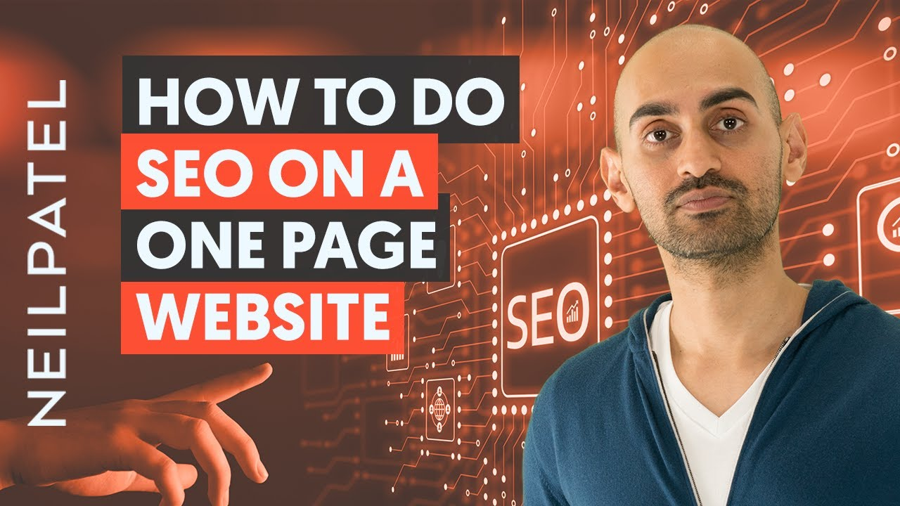 How to do SEO on a One Page Website