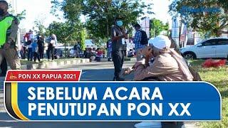 Sebelum Acara Penutupan PON XX Papua, Sekitar Area Stadion Lukas Enembe Mulai Didatangi Penonton