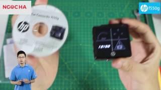 Đánh giá Camera hành trình HP 550g và TPMS T10