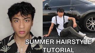 SUMMER MESSY HAIR TUTORIAL!