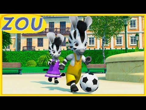 Zou en Français ⚽️ LE MATCH DE FOOTBALL 🥅 Dessins animés