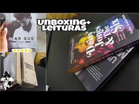 Vlog #15 - Unboxing book friday + leitura da semana | Todo dia literário