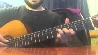 Teoman - İstanbul'da Sonbahar (Klasik Gitar Cover) Akor Ve Tab