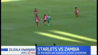 Harambee starlets yamenyana na Zambia | Zilizala Viwanjani