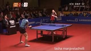 Ryu Seung Min Vs He Zhi Wen (European Champions League 2008)