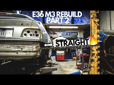 Rebuilding an E36 M3! (Ep.2)