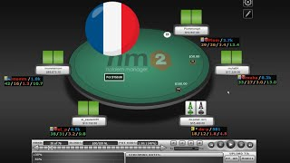 Vidéo De Poker Online Gratuite : Pot De 33K$ En Cash Game High Stakes 50/100 No Limit Texas Hold'Em
