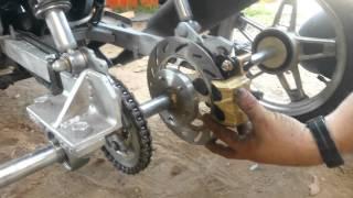 Motocicleta para discapacitados