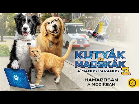 Kutyák és macskák 3. – A mancs parancs – Magyar szinkronos előzetes