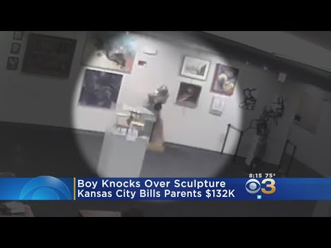 Kansas City charged mom $132,000 for a statue her kids damaged at an art exhibit
