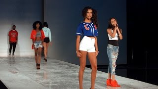 Mali Nicole Runway Performance with Central Ave Apparel - LA Fashion Show