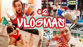 Vlogmas day 2 / Шоппинг В ИКЕА ! Подарила Xbox! Колонка моей мечты ! Ищу новогоднюю пижамку !