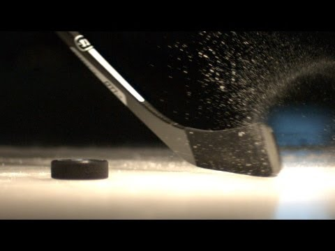 The Science Of The Slapshot: Stanley Cup Slo-Mo Physics