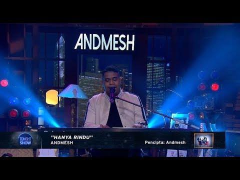 Andmesh - Hanya Rindu (Perform at Tonight Show)