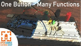 How to Make One Button Act Like Two or More with Arduino