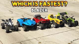 GTA 5 ONLINE : WHICH IS FASTEST BLAZER?