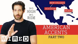 Accent Expert Gives a Tour of U.S. Accents - (Part 2) | WIRED