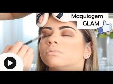 Maquiagem Glam | Passo a Passo MakeUp