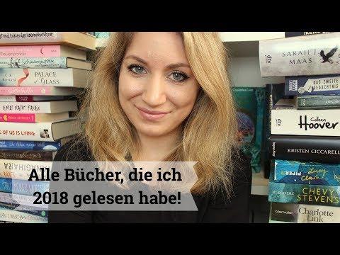 ✨ ALLE Bücher, die ich 2018 gelesen habe - Jahresrückblick 📚
