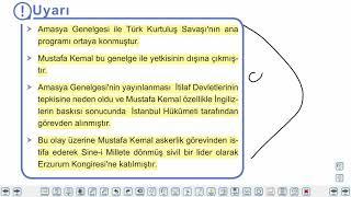 Eğitim Vadisi TYT Tarih 16.Föy Milli Mücadele Dönemi 1 Konu Anlatım Videoları