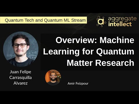 Overview: Machine Learning for Quantum Matter Research