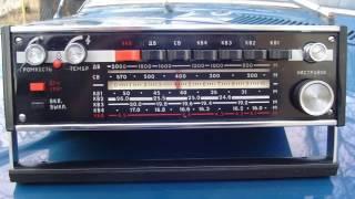 """12 декабря 1980 года.Радиостанция """"Родина"""".Начало вещания и программа передач."""