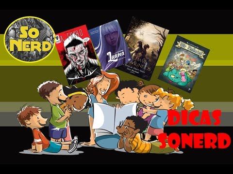 Dicas de Leitura alternativa -livros e HQs