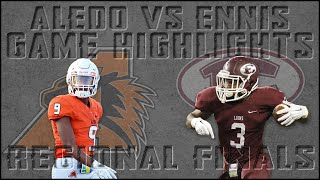 Aledo vs Ennis - 2019 Texas High School Football Playoffs - Region Finals Highlights