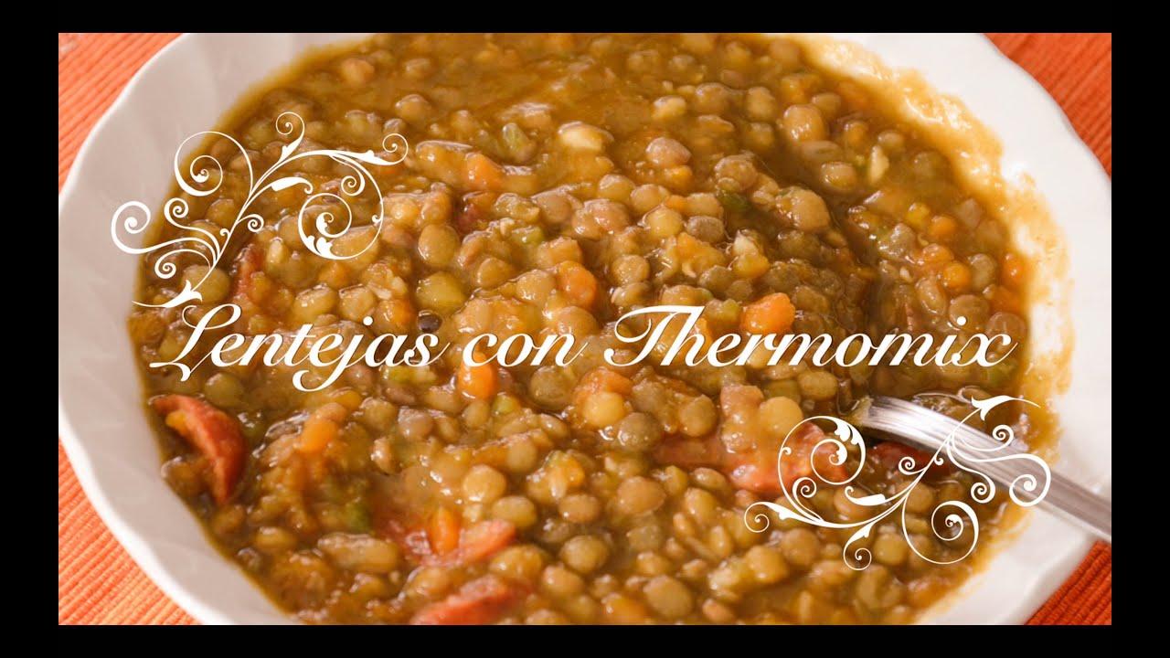 Lentejas con Verduras y Chorizo con Thermomix | Lentejas Thermomix | Lentejas con Chorizo Thermomix