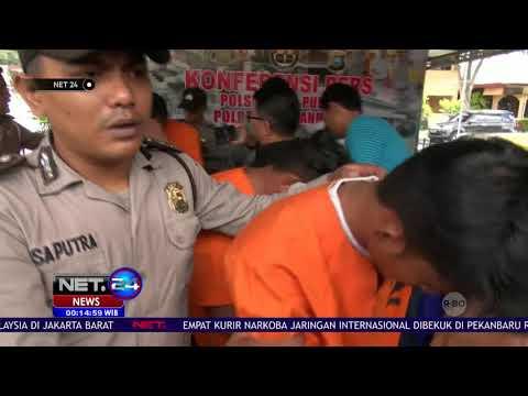 Empat Kurir Narkoba Jaringan Internasional Ditangkap di Pekanbaru   NET24