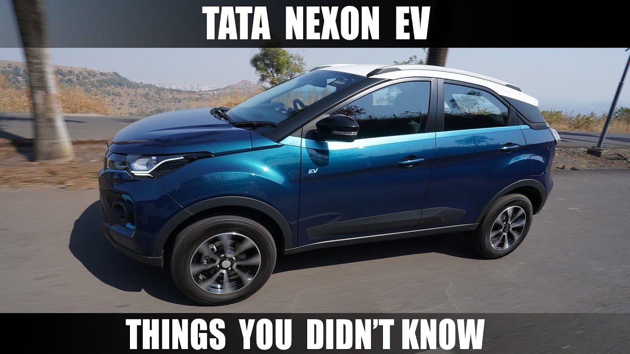 Motoroctane Youtube Video - Can't Miss - Tata Nexon EV - Things You Didn't know