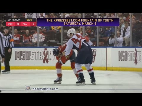 Derek MacKenzie vs. Brooks Orpik