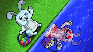 Story of Peter Cottontail...the Evil EASTER BUNNY! (Minecraft)