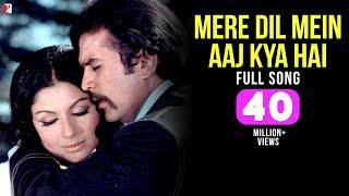 Mere Dil Mein Aaj Kya Hai | Full Song | Daag | Rajesh Khanna