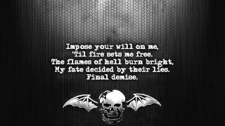 Avenged Sevenfold - Heretic [Lyrics on screen] [Full HD]