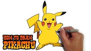 בואו ללמוד לצייר את פיקאצ'ו!