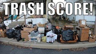 Trash Picking For Free Treasures it's FREEZING COLD - Garbage Picking Ep. 106