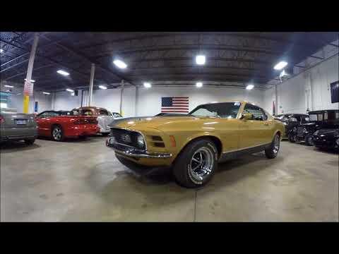 Video of '70 Mustang Mach 1 - LQDZ