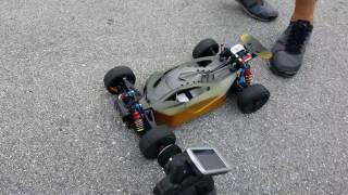 Arrma Typhon 124.9mph 201kph! Top Speed Run Kill Mode Cap Pack Prototype #2 Test.