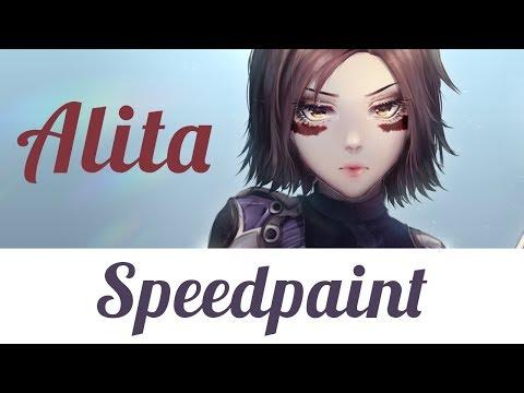 【Speedpaint】- Alita Battle Angel - Fan Art