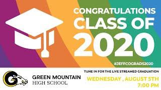 Green Mountain High School Graduation 2020