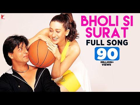 Bholi Si Surat - Full Song   Dil To Pagal Hai   Shah Rukh Khan   Madhuri   Karisma   Lata   Udit
