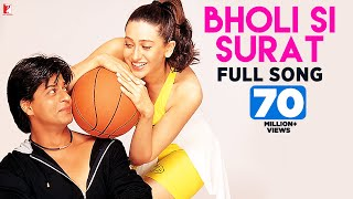 Bholi Si Surat - Full Song | Dil To Pagal Hai | Shah Rukh Khan