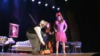 As Três No Teatro Do Centro Multiuso De São José Em 1º De Novembro De 2014